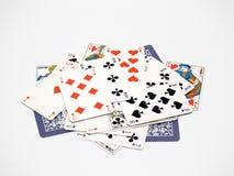 7 карточек Стоковое фото RF