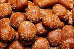 7 кренов хлеба Стоковое Изображение