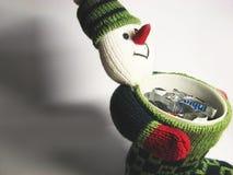 7 подарков укомплектовывают личным составом снежок Стоковые Изображения RF