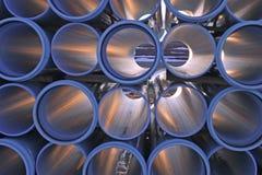 7 труб полива Стоковые Фотографии RF