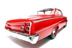 7 1962年belair汽车薛佛列汽车fisheye金属缩放比例玩具 免版税库存图片