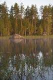 7 2009 finland saima Arkivfoton