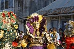 7 2010个每年狂欢节s 2月法属圭亚那 免版税库存图片