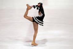 7 2010第3只杯子欧罗巴海伦娜冰鞋 库存照片