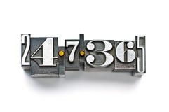 7 24 365 库存照片