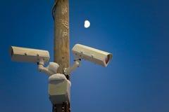 7 24 observera Fotografering för Bildbyråer