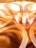 7 abstrakt lampor Royaltyfri Fotografi