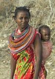 7 afrikanska folk Fotografering för Bildbyråer
