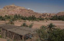 7 ait ben haddou ksar Στοκ Φωτογραφίες