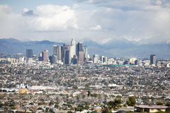 7 Angeles στο κέντρο της πόλης Los Στοκ Εικόνα