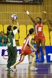 7. Asiatische Netball-Meisterschaft-Tätigkeit (verwischt) Lizenzfreie Stockfotos