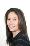 7 asiatiska attraktiva flickabarn Royaltyfria Bilder