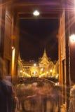 7 atgrand Bangkok Dec cieszy się pa thenight turystów zdjęcia stock