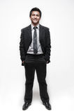 7 azjatykci atrakcyjny biznesmen Fotografia Royalty Free