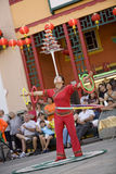 7 balancer κινέζικα Στοκ Φωτογραφίες