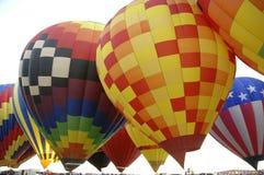 7 ballonger Arkivbild