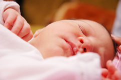7 behandla som ett barn maria Royaltyfria Foton