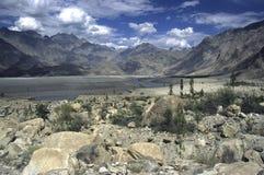 7 berg pakistan Arkivbild