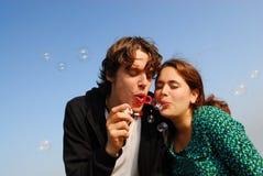 7 bubbles Στοκ εικόνες με δικαίωμα ελεύθερης χρήσης