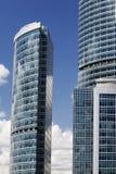 7 busines οικοδόμησης σύγχρονα Στοκ εικόνα με δικαίωμα ελεύθερης χρήσης