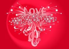 7 byli mój valentine Fotografia Royalty Free
