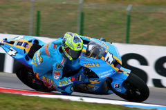 7 Chris Vermeulen - Rizla Suzuki MotoGP Photos libres de droits