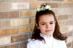 7 communion pierwszy Fotografia Royalty Free
