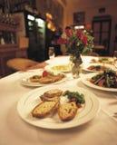 7 de jantar finos Imagem de Stock Royalty Free