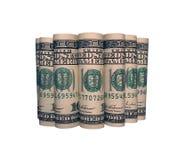 7-Dollar-Rollen Lizenzfreie Stockfotografie