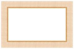 7 drewniany ramowy obrazek Fotografia Royalty Free