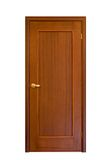 7 drzwiowych drewniane Fotografia Royalty Free