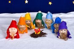 7 dwarfs Royalty Free Stock Image