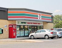 7 Eleven. In NJ shore in Long Branch is Royalty Free Stock Image