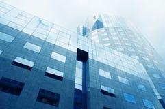 7 företags byggnader Royaltyfria Bilder