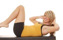 7 fitness dziewczyny zdrowia fizycznego Obraz Royalty Free