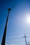 7 gospodarstw rolnych wiatr Fotografia Stock