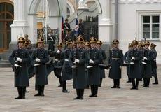 7 guard kremlin moscow Royaltyfri Fotografi