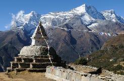 7 himalaya som trekking Arkivfoto