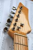 7 instrumentów musical Fotografia Royalty Free