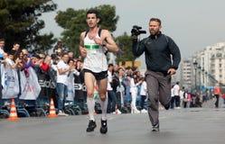 7. Internationales Alexander der Große-Marathon Lizenzfreie Stockbilder