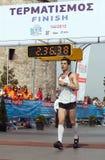 7. Internationales Alexander der Große-Marathon Lizenzfreies Stockbild