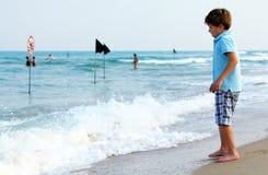 7 Jahre alte Kind Lizenzfreie Stockfotografie