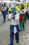 7 karnevalschweizare Royaltyfria Bilder