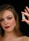 7 kawałków szachowych obrazy royalty free