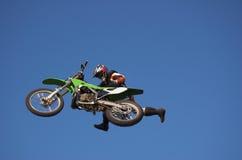 7 kraulem moto x Zdjęcie Royalty Free
