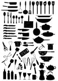 7 kuchnia Obrazy Stock