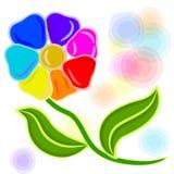 7 kwiat Ilustracja Wektor