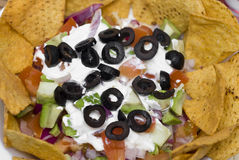 7 Layer Bean Dip Royalty Free Stock Image