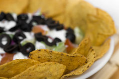 7 Layer Bean Dip Royalty Free Stock Photo