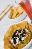 7 Layer Bean Dip Royalty Free Stock Photography